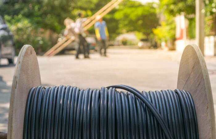 Working for install internet fiber system in village 845214452 3868x2579